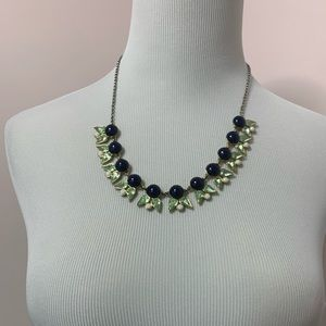 Jcrew statement necklace with earrings